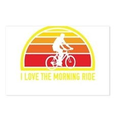 I Love The Morning Ride Postcards (Package of 8)
