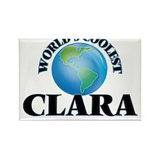 World's Coolest Clara Magnets