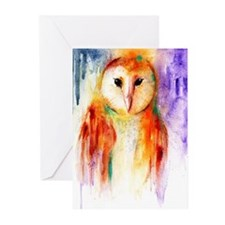 Unique Orange wall Greeting Cards (Pk of 20)