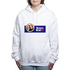 Cute Bush Women's Hooded Sweatshirt