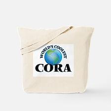 World's Coolest Cora Tote Bag