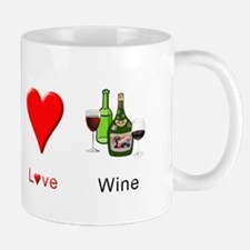 Peace Love Wine Mug