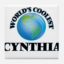World's Coolest Cynthia Tile Coaster