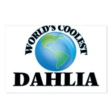 World's Coolest Dahlia Postcards (Package of 8)