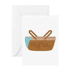 Picnic Basket Greeting Cards