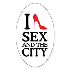 I Love Sex and The City Decal