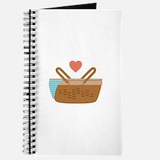 Picnic Heart Basket Journal