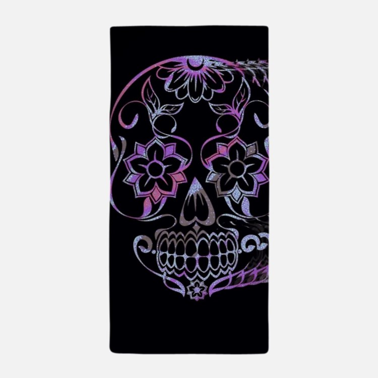 sugar skull bathroom accessories decor cafepress