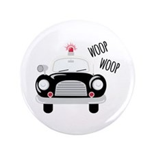 "Siren Woop 3.5"" Button (100 pack)"
