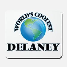 World's Coolest Delaney Mousepad