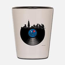 I Love Chicago Shot Glass
