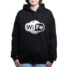 WiFe Hotspot Logo Women's Hooded Sweatshirt
