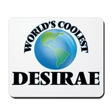 World's Coolest Desirae Mousepad