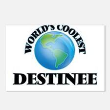 World's Coolest Destinee Postcards (Package of 8)