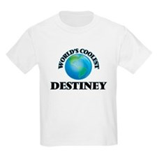 World's Coolest Destiney T-Shirt