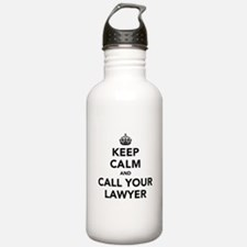 Keep Calm And Call You Water Bottle