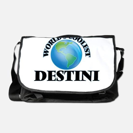 World's Coolest Destini Messenger Bag
