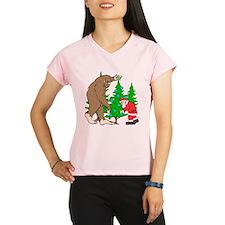Bigfoot, Santa Christmas Performance Dry T-Shirt