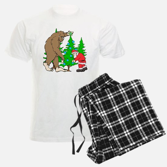 Bigfoot, Santa Christmas Pajamas