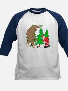 Bigfoot, Santa Christmas Tee