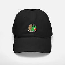 Bigfoot, Santa Christmas Baseball Hat