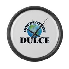 World's Coolest Dulce Large Wall Clock