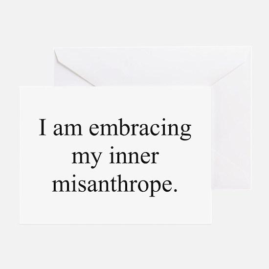 Inner Miz Greeting Card
