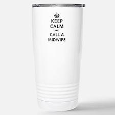 Keep Calm and Call A Mi Travel Mug