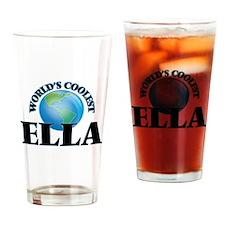 World's Coolest Ella Drinking Glass