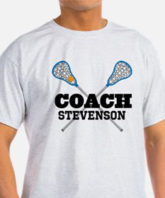 Lacrosse Coach Personalized T-Shirt