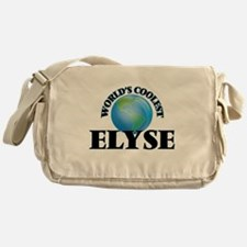 World's Coolest Elyse Messenger Bag