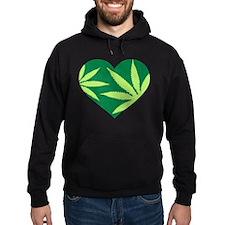 Marijuana heart Hoodie