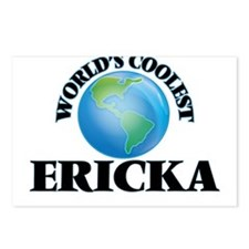 World's Coolest Ericka Postcards (Package of 8)