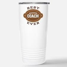 Best Football Coach Eve Travel Mug