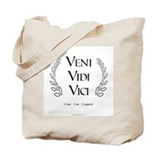 Veni Vidi Vici Tote Bag