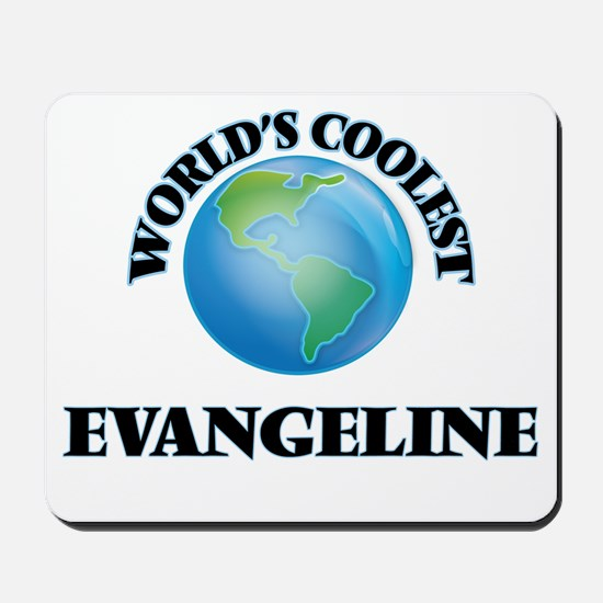 World's Coolest Evangeline Mousepad