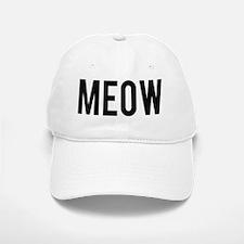 Meow Baseball Baseball Cap