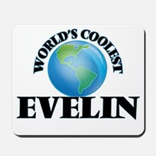 World's Coolest Evelin Mousepad