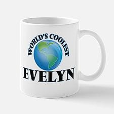 World's Coolest Evelyn Mugs