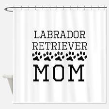 Labrador Retriever Mom Shower Curtain