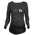 Christmas Husband Long Sleeve Maternity T-Shirt