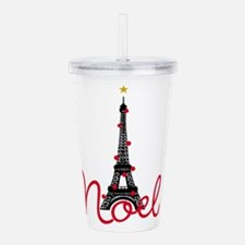 Paris Noel Acrylic Double-wall Tumbler