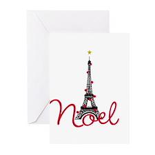 Paris Noel Greeting Cards