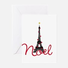 Paris Noel Greeting Cards