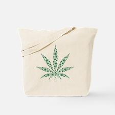 Marijuana leafs Tote Bag