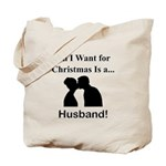 Christmas Husband Tote Bag