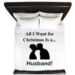 Christmas Husband King Duvet