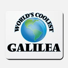 World's Coolest Galilea Mousepad