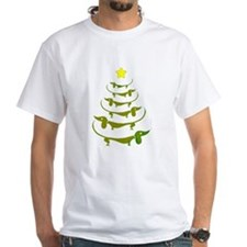 Weiner Dog Dachshund Christmas T-Shirt