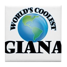 World's Coolest Giana Tile Coaster